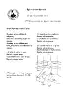Chants Saint-Léon14 janvier 2018