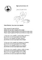Jeudi Saint29 mars 2018
