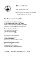 Chants Saint-Léon10 février 2019