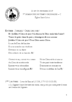 Chants Saint-Léon26 février 2019