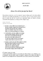 Jeudi-Saint18 avril 2019