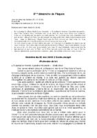 Homélie du 25 mai 2019