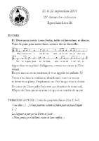 Chants Saint-Léon22 septembre 2019