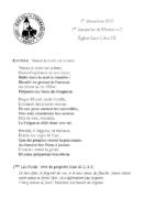 Chants Saint-Léon1er décembre 2019