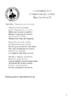 Chants Saint-Léon15 décembre 2019