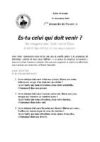 Chants Saint-Joseph15 décembre 2019
