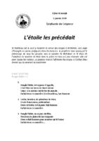 Chants Saint-Joseph5 janvier 2020