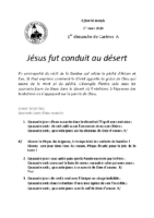 Chants Saint-Joseph1er mars 2020