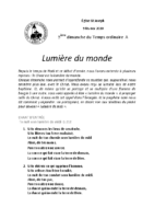 Chants Saint-Joseph9 février 2020