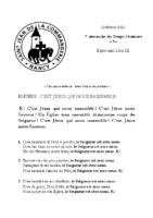 Chants Saint-Léon23 février 2020