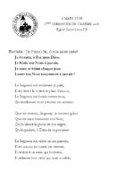 Chants Saint-Léon8 mars 2020