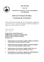 Chants Saint-Joseph28 juin 2020
