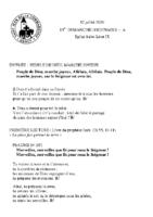 Chants Saint-Léon12 juillet 2020