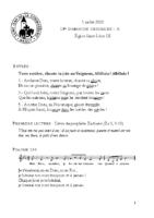 Chants Saint-Léon5 juillet 2020