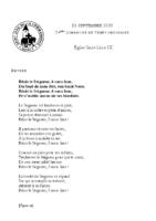 Chants Saint-Léon13 septembre 2020
