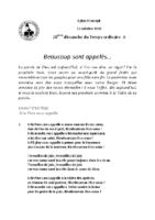 Chants Saint-Joseph11 octobre 2020