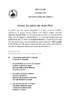 Chants Saint-Joseph02/11/2020Fidèles défunts
