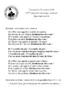 Chants Saint-Léon18 octobre 2020