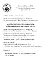 Chants Saint-Léon31 janvier 2021