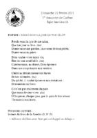 Chants Saint-Léon21 février 2021