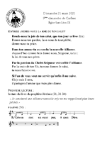 Chants Saint-Léon21 mars 2021