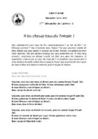 Chants Saint-Joseph7 mars 2021