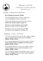 Chants Saint-Léon11 avril 2021