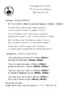 Chants Saint-Léon16 mai 2021