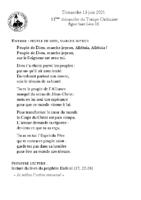 Chants Saint-Léon13 juin 2021