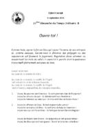 Chants Saint-Joseph5 septembre 2021