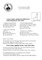 Veillée pascale 2017 Sint-Léon