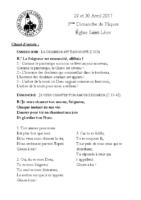 Chants Saint-Léon30 avril 2017