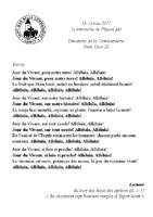 Chants Saint-Léon14 mai 2017