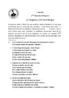 Chants Saint-Joseph7 mai 2017