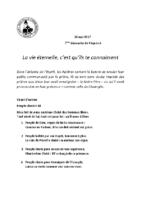 Chants Saint-Joseph28 mai 2017