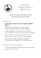 Chants Saint-Léon21 mai 2017