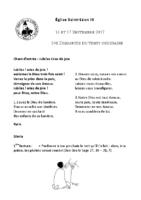 Chants Saint-Léon17 septembre 2017