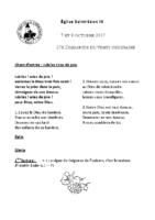 Chants Saint-Léon8 octobre 2017