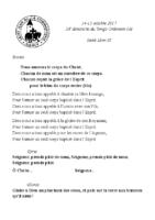 Chants Saint-Léon15 octobre 2017