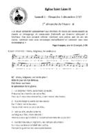 Chants Saint-Léon3 décembre 2017