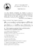 Chants Saint-Léon10 décembre 2017