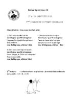 Chants Saint-Léon28 janvier 2018