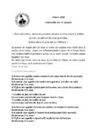 Chants Fête de St-Joseph19 mars 2018