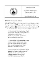 Chants Saint-Léon4 mars 2018