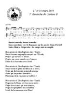 Chants Saint-Léon18 mars 2018