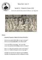 Chants Saint-LéonRameaux25 mars 2018