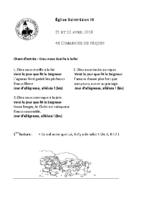 Chants Saint-Léon22 avril 2018
