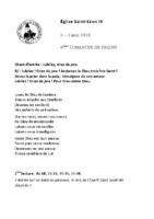 Chants Saint-Léon6 mai 2018