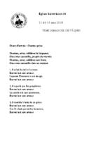 Chants Saint-Léon13 mai 2018