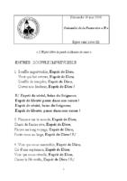 Chants Saint-Léon – Pentecôte 201820 mai 2018